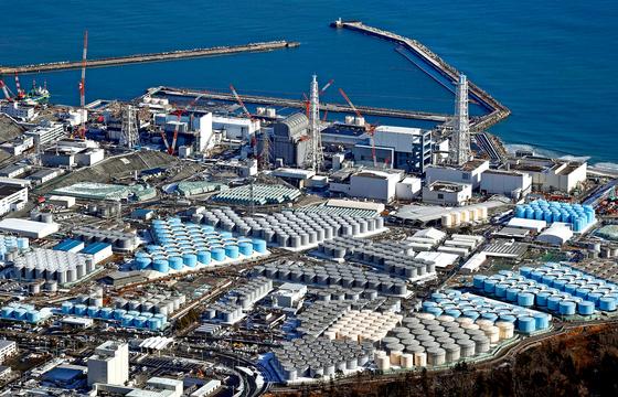일본 후쿠시마현 원자력 발전소의 모습. AP뉴스