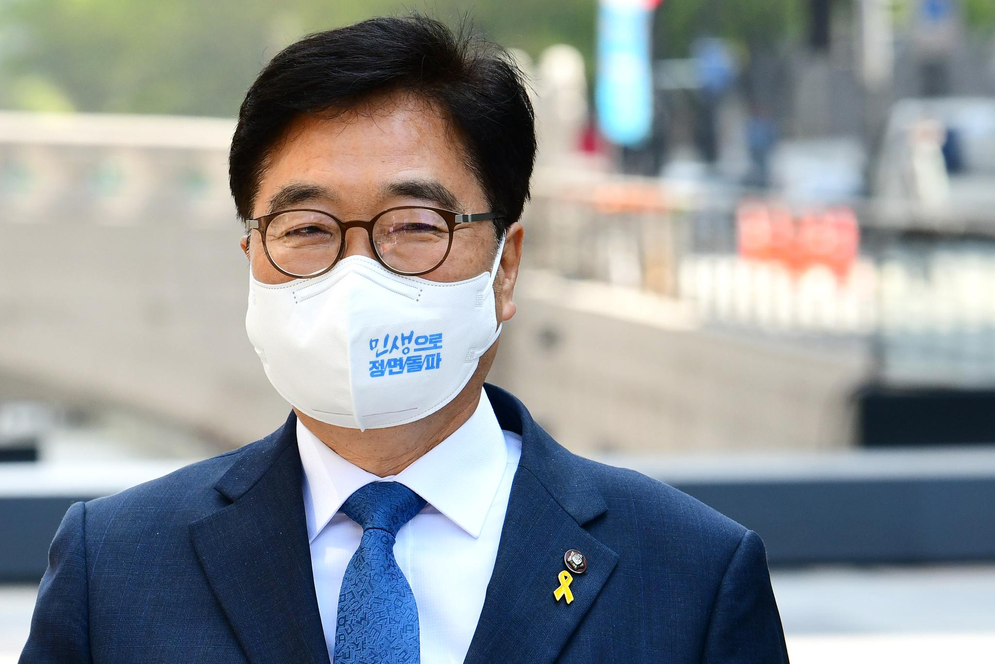 우원식 더불어민주당 의원. 오종택 기자