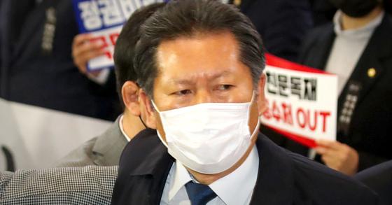 정청래 더불어민주당 의원. 연합뉴스