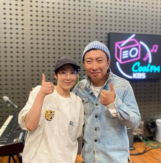 사진=KBS 쿨FM '박명수의 라디오쇼' SNS