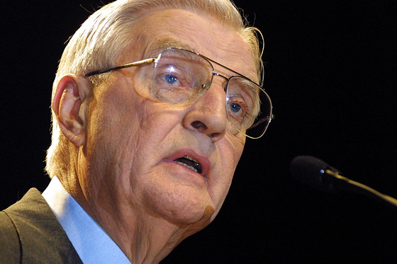 지미 카터 대통령 때 부통령을 지낸 월터 먼데일. 93세를 일기로 별세했다. AFP=연합뉴스