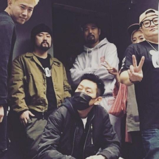 DJ DOC 김창열이 17일 故이현배를 추모하며 올린 사진. 김창열 인스타그램