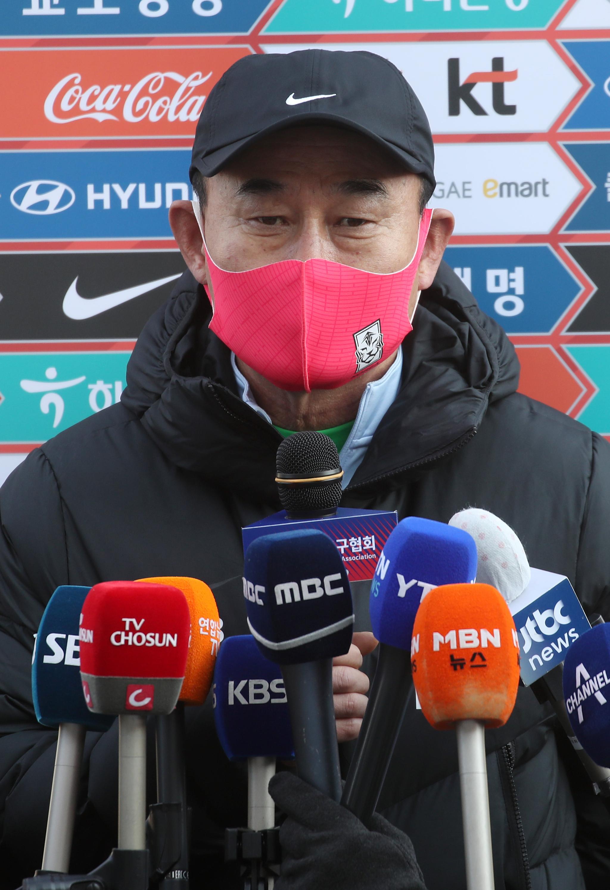 한국올림픽축구대표팀 사령탑 김학범 감독. [연합뉴스]