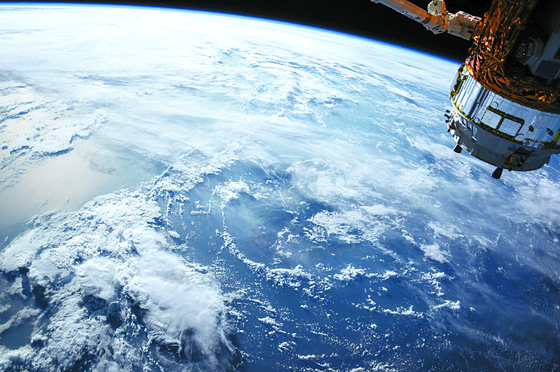 캐나다 인공위성 정보분석업체인 콴들이 공개한 지구 위성사진. [콴들]