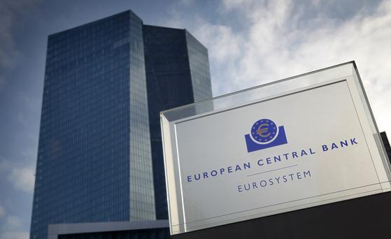유럽중앙은행(ECB). AFP=연합뉴스
