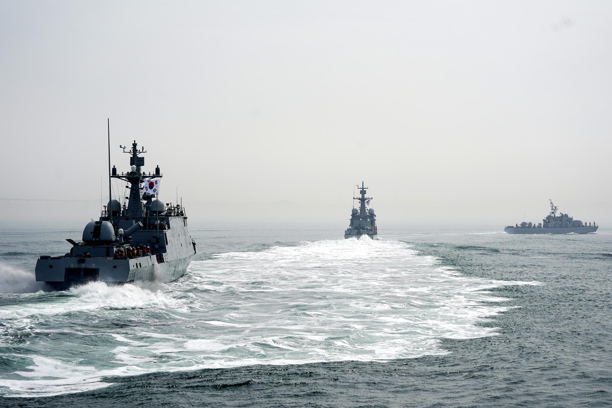 해군 자료사진. 청와대사진기자단
