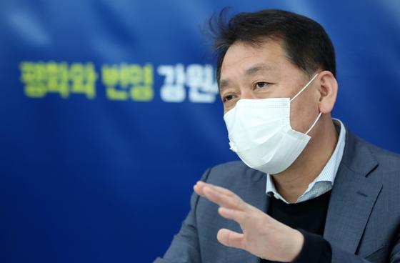 더불어민주당 이광재 의원. 연합뉴스