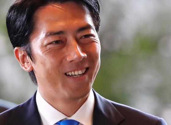 고이즈미 신지로 일본 환경상. [로이터=연합뉴스]