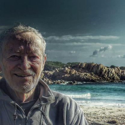 부델리섬을 1989년부터 관리해온 마우로 모란디(81). [모란디 페이스북 캡처]