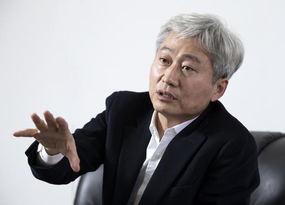 김근식 전 국민의힘 비전전략실장. 임현동 기자
