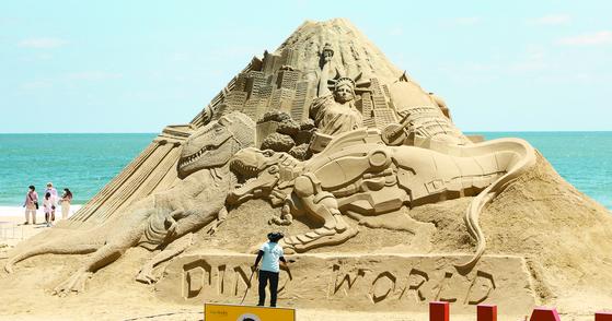 해운대의 모래 작품