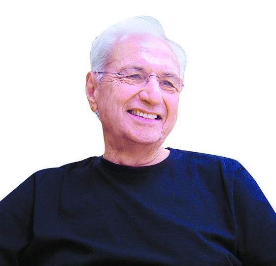 92세의 나이에도 왕성한 활동을 하고 있는 세계 건축계의 거장 프랭크 게리. [중앙포토]