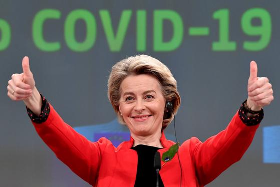 우르줄라 폰데어라이엔 유럽연합(EU) 집행위원장. [로이터=연합뉴스]