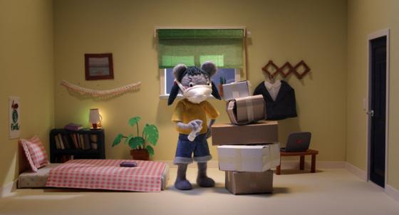 특별전 '스페셜 포커스: 코로나, 뉴노멀' 중 단편 애니메이션 '지혜로운 방구석 생활'. [사진 전주국제영화제]