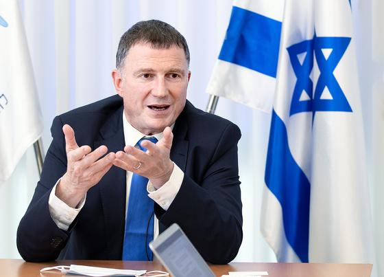 율리 에델스테인 이스라엘 복지부장관이 27일 오후 텔아비브 사무실에서 중앙일보와 인터뷰를 하고 있다. 임현동 기자