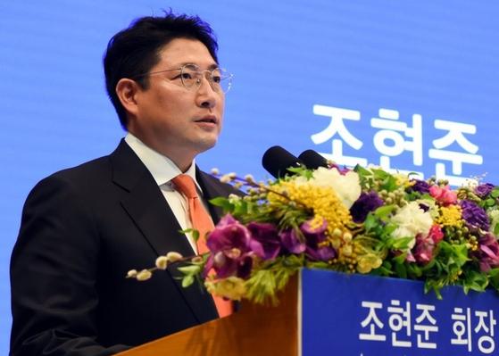 효성그룹 동일인으로 지정된 조현준 회장. 연합뉴스