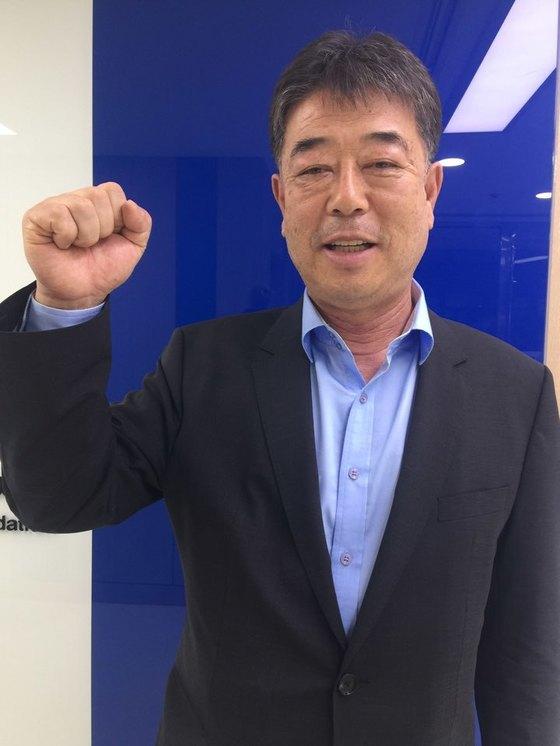 기영옥 전 광주FC 단장. 일간스포츠