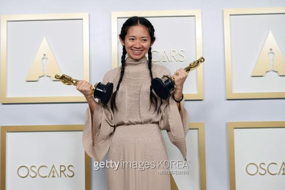 제93회 아카데미 시상식(Academy Awards) 작품상·감독상 '노매드랜드' 클로이 자오 / 사진=Gettyimages·이매진스