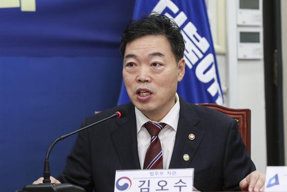 김오수 검찰총장 후보자.
