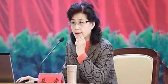 중국 공산당을 양성하는 중앙당교에서 일했던 전직 교수인 차이샤. 현재는 미국에 체류 중인 것으로 알려졌다. [유튜브, 웨이보]