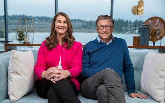 빌·멀린다 게이츠 부부가 27년 간의 결혼 생활을 마치고 각자의 길을 걷기로 했다. 신화통신=연합뉴스