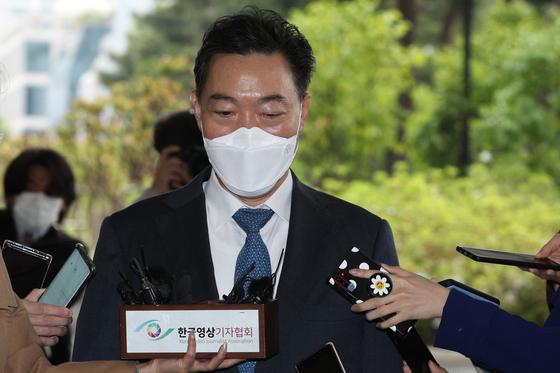 4일 오전 김오수 검찰총장 후보자. 뉴스1