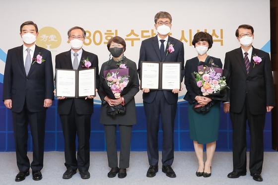 서울대 김장주·성영은 교수 '수당상' 수상
