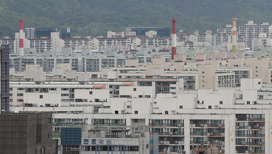 서울 노원구 일대 아파트 모습. 2021.4.30 연합뉴스