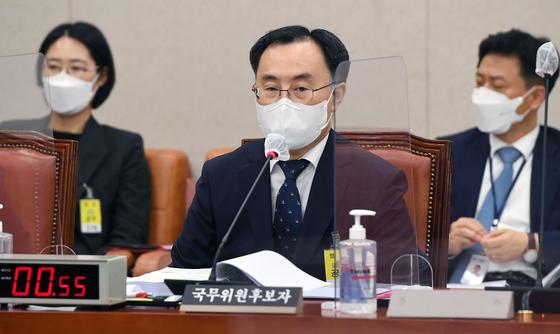 문승욱 신임 산업통상자원부 장관. 뉴스1