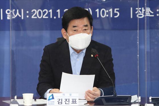 김진표 국회의원. 오종택 기자