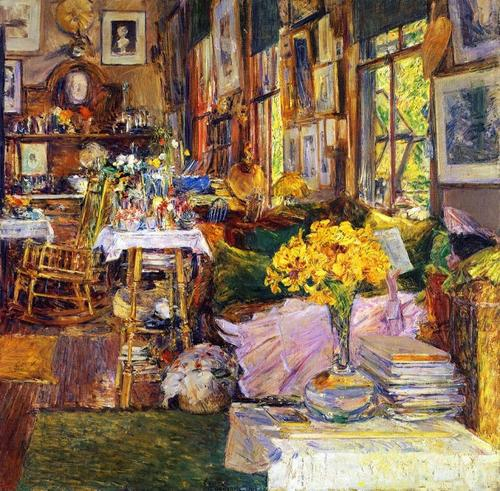 프레데릭 차일드 하삼의 '꽃의 방;. 2000만 달러에 구입했다. [사진 frederickhassam.org]