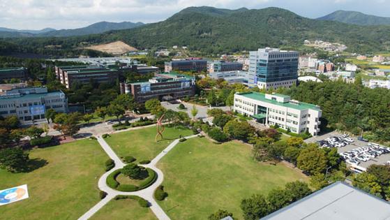한국기술교육대학교(코리아텍) 전경