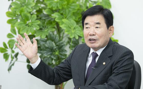 6일 더불어민주당 부동산 특위 위원장으로 내정된 김진표 의원. 중앙포토
