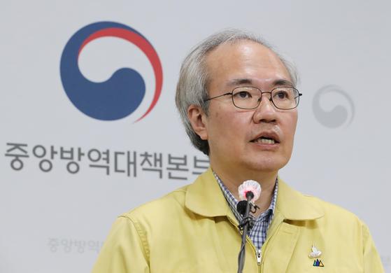 권준욱 중앙방역대책본부 제2부본부장. 연합뉴스