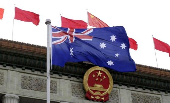 6일 중국 국가발전개혁위원회가 호주와 전략경제대화를 무기한 중단한다고 발표했다. [로이터=연합]