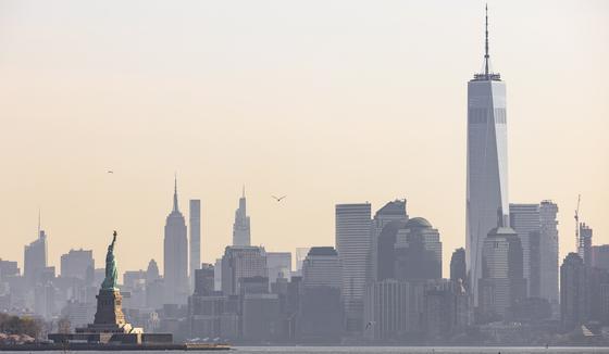 뉴욕 맨해튼. EPA=연합뉴스