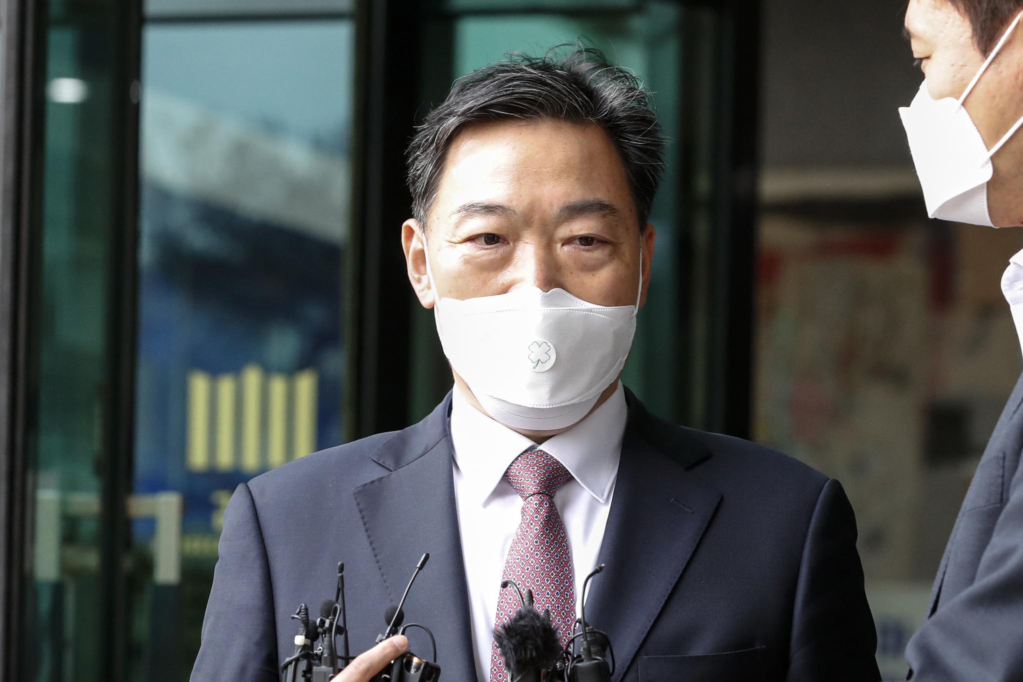 검찰총장 후보에 지명된 김오수 전 법무부 차관. 뉴스1