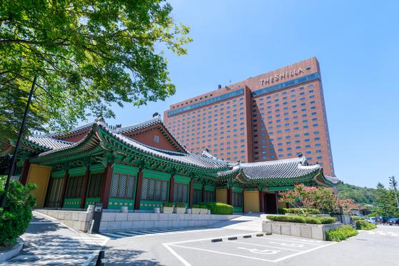 서울 장충동의 신라호텔. shutterstock