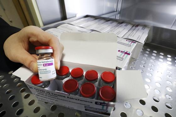 아스트라제네카 백신 뉴스1