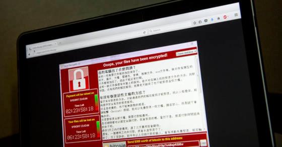 2017년 5월 발생해 전세계 150여 개국, 30만 대 이상의 컴퓨터 시스템을 감염시킨 워너크라이 랜섬웨어. 랜섬웨어는 인질의 몸값을 뜻하는 랜섬(ransom)과 소프트웨어의 웨어(ware)가 합쳐져 만들어진 이름이다. [AP=연합뉴스]