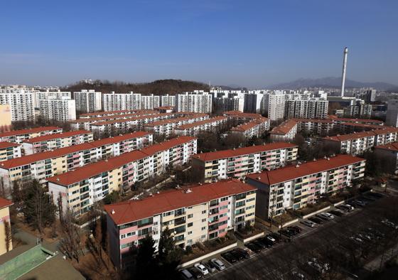 서울 양천구 목동 아파트 2단지의 모습. 뉴스1