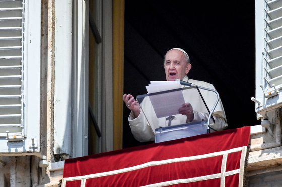 프란치스코 교황. AFP=연합뉴스