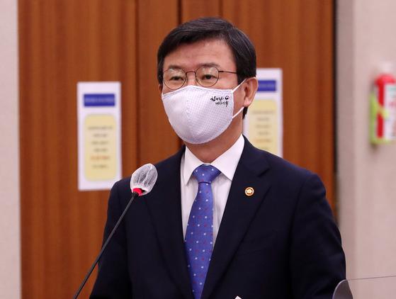 문성혁 해양수산부 장관. 오종택 기자