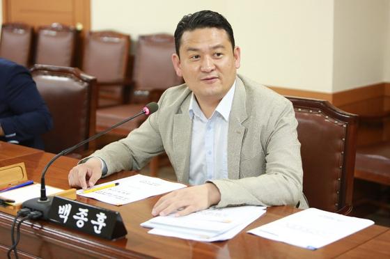 백종훈 대구 수성구의원. 사진 수성구의회