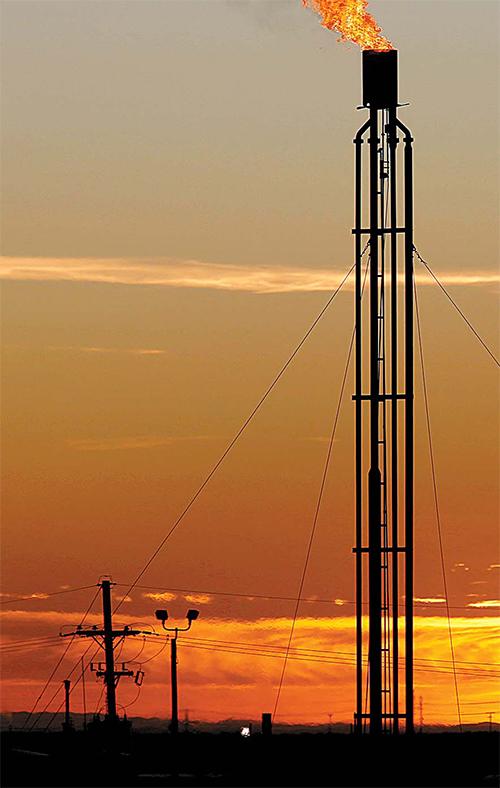 글로벌 경기회복으로 석유·구리·철광석 등 원자재 가격이 급등하고 있다. [로이터=연합뉴스]