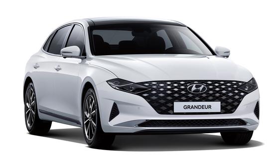 현대자동차가 우아하고 세련된 감성의 스페셜 트림 '르블랑(Le Blanc)'을 추가하고 안전 및 편의 사양을 확대 적용한 '2021 그랜저'를 출시한다고 11일 밝혔다. [사진 현대차]