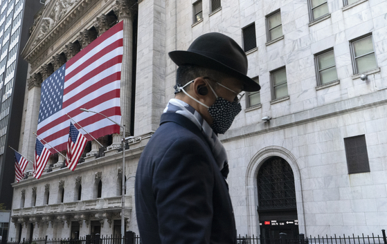 지난해 11월 미국 뉴욕 증권거래소의 모습.[AP=연합뉴스]