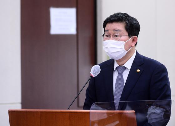 전해철 행정안전부 장관. 뉴스1