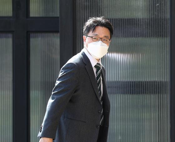 5월 11일 김진욱 고위공직자범죄수사처 처장이 출근하고 있다. 뉴스1