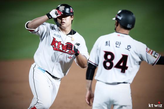 강백호가 조아제약 프로야구 대상 4월 MVP로 선정됐다. KT 제공